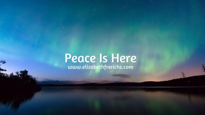 Blog_ Peace Is Here