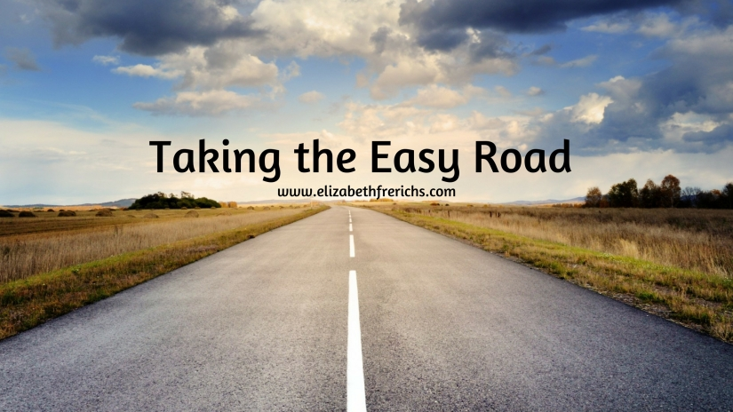 blog_ Taking the easy road